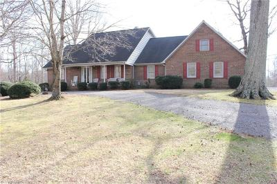 Clemmons Single Family Home For Sale: 4995 Dock Davis Road