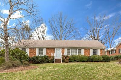 Greensboro Single Family Home For Sale: 605 Meade Drive