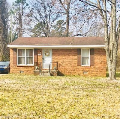 High Point Single Family Home For Sale: 1117 Wayside Street