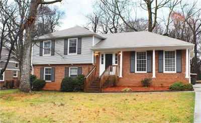 Greensboro Single Family Home For Sale: 1008 Elderwood Place