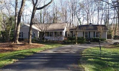 Pfafftown Single Family Home Due Diligence Period: 2490 Mount Salem Road
