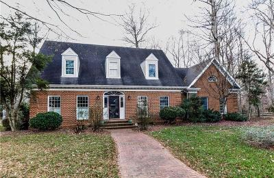 Winston Salem Single Family Home For Sale: 1200 Wilmar Place Court