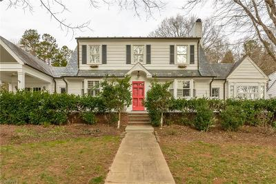 Winston Salem Single Family Home For Sale: 1809 Runnymede Road