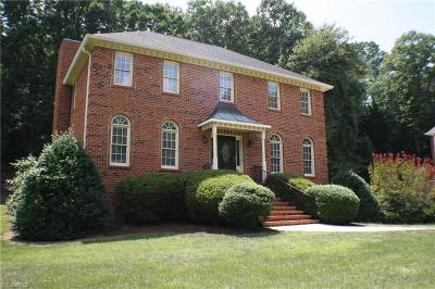 Winston Salem Single Family Home For Sale: 178 Wexham Road