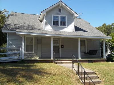 Asheboro Single Family Home For Sale: 539 Peachtree Street