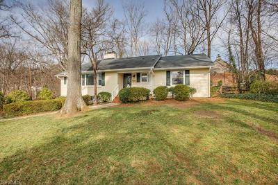 Winston Salem Single Family Home For Sale: 1060 Wendover Circle