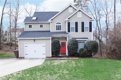 Greensboro Single Family Home For Sale: 4907 Heritage Woods Drive