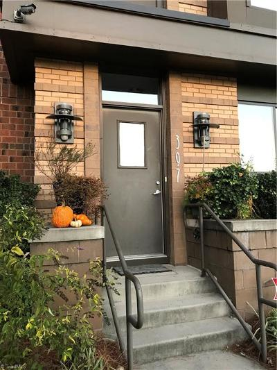 Winston Salem Condo/Townhouse For Sale: 397 N Green Street #107
