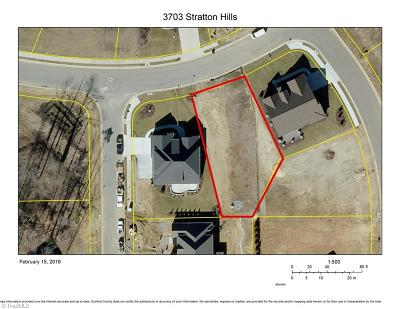 Greensboro Residential Lots & Land For Sale: 3703 Stratton Hills Drive