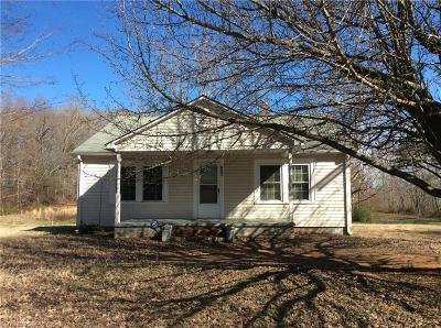 Asheboro Single Family Home Due Diligence Period: 651 Foxfire Road
