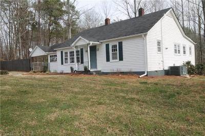 Guilford County, Forsyth County, Davidson County, Randolph County, Surry County, Yadkin County, Davie County, Stokes County, Rockingham County, Caswell County, Alamance County Single Family Home For Sale: 514 Brown Road
