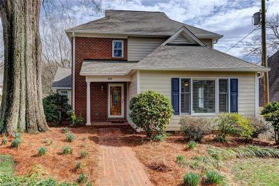 Winston Salem Single Family Home For Sale: 113 Prestwick Manor Court
