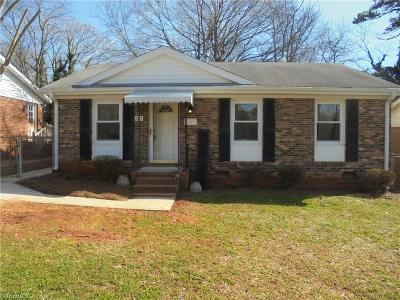 Winston Salem Single Family Home For Sale: 1271 Madison Avenue