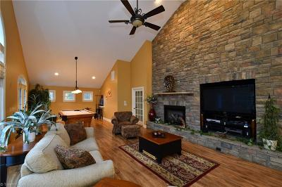 Winston Salem Single Family Home For Sale: 3915 Sawmill Road