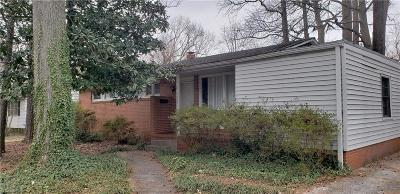 Greensboro Single Family Home For Sale: 2512 Westmoreland Drive