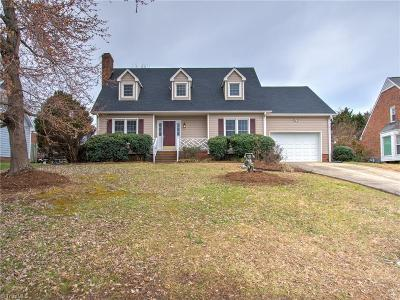 Guilford County Single Family Home For Sale: 3206 Spring Mill Road