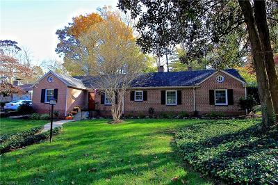Greensboro Single Family Home For Sale: 109 Leonard Drive