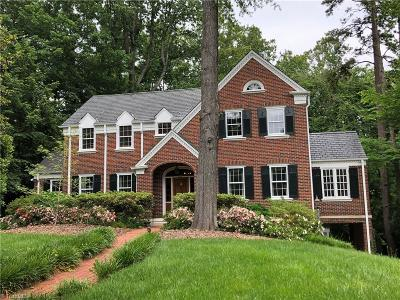 Winston Salem NC Single Family Home For Sale: $789,500