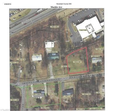 Asheboro Residential Lots & Land For Sale: Mackie Avenue