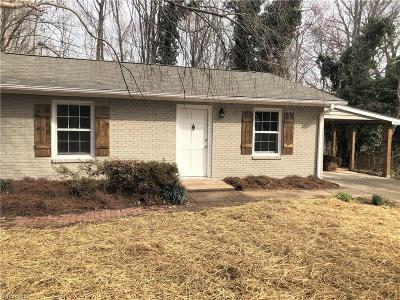Clemmons Single Family Home Due Diligence Period: 1708 Chester Valley Court