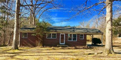 Single Family Home For Sale: 7012 Dennis Road
