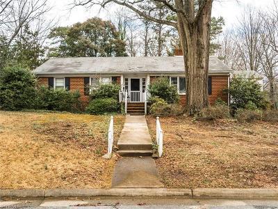 Greensboro Single Family Home For Sale: 2100 Villa Drive