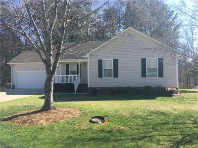Alamance County Single Family Home Due Diligence Period: 1230 Durham Meadows Drive