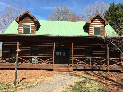Mocksville Single Family Home For Sale: 194 Cedar Ridge Road