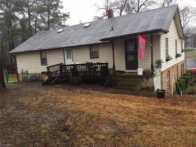Greensboro Single Family Home For Sale: 1500 W Vandalia Road