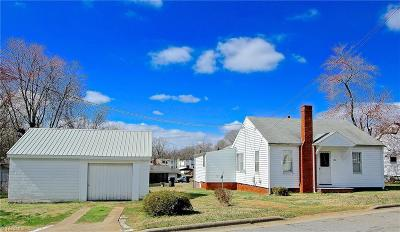 Reidsville Single Family Home For Sale: 1706 Amos Street