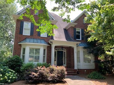 Winston Salem Single Family Home For Sale: 920 Brookmeade Drive