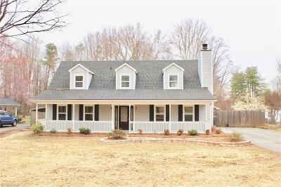Reidsville Single Family Home For Sale: 302 Cypress Drive
