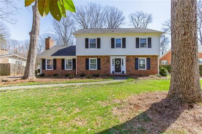 Greensboro Single Family Home For Sale: 800 Pebble Drive