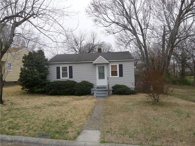 Reidsville Single Family Home For Sale: 914 Forest Street
