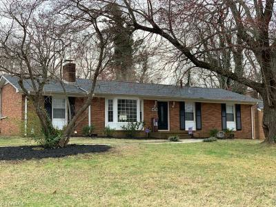 Alamance County Single Family Home Due Diligence Period: 1538 Overbrook Road