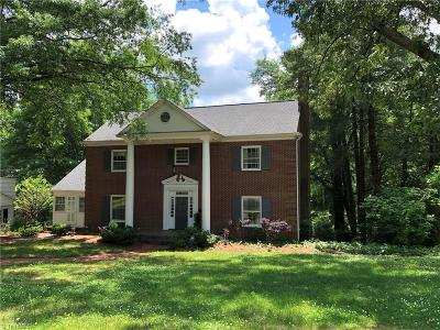 High Point Single Family Home For Sale: 811 Hillcrest Drive