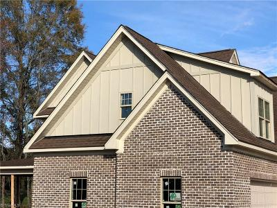 Greensboro Single Family Home For Sale: 595 Hiltons Landing Drive