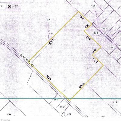 Davie County Residential Lots & Land For Sale: 01 Cemetery Street