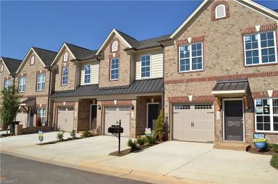 Winston Salem Condo/Townhouse For Sale: 5179 Farm House Trail #Lot 625