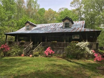 Advance Single Family Home For Sale: 1017 Williams Road