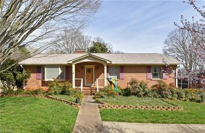 Winston Salem Single Family Home For Sale: 2515 Amesbury Road