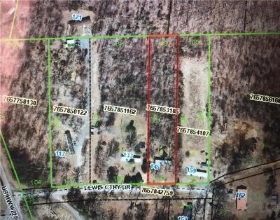 Asheboro Residential Lots & Land For Sale: 160 Lewis Country Drive