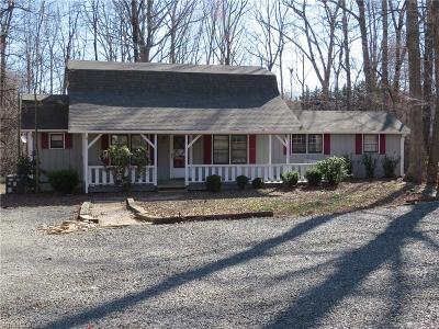 Reidsville Single Family Home For Sale: 733 Boyd Road