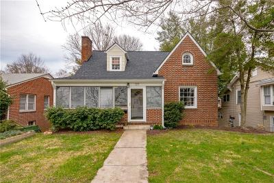 Winston Salem Single Family Home Due Diligence Period: 129 E Sprague Street