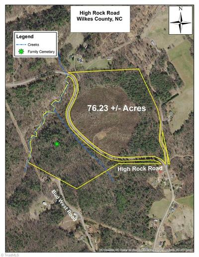 Wilkes County Residential Lots & Land For Sale: High Rock Road