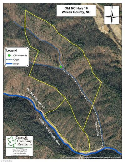Wilkes County Residential Lots & Land For Sale: Old Nc Highway 16