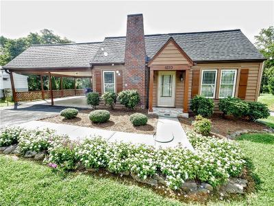 Winston Salem Single Family Home For Sale: 4210 Robinhood Road
