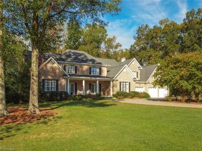 Davie County Single Family Home For Sale: 206 Meadowlark Lane