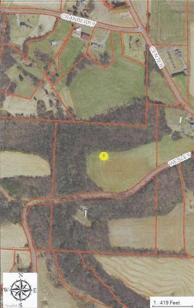 Yadkin County Residential Lots & Land For Sale: 1 Wesley Road