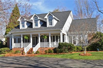 Winston Salem Single Family Home For Sale: 125 Northpond Lane